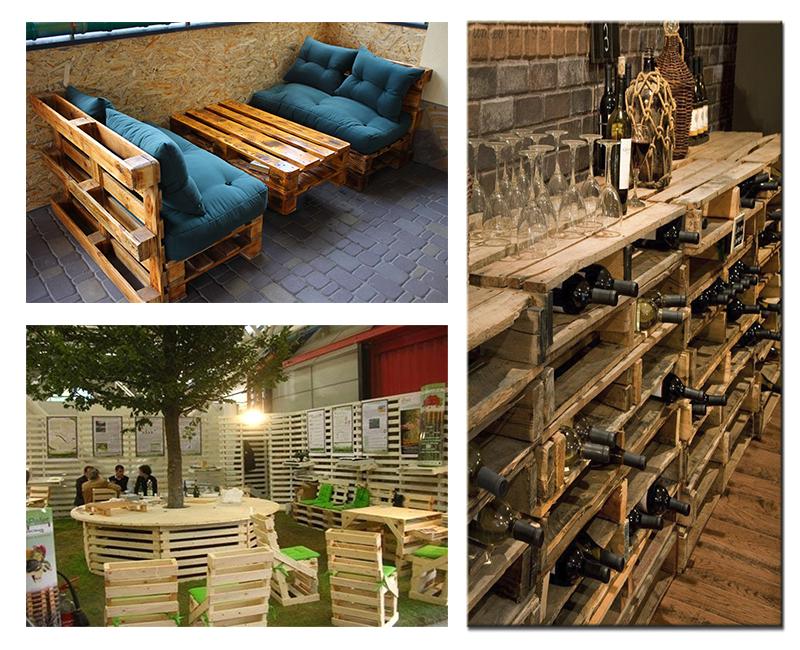 Мебель из деревянных паллет своими руками 3